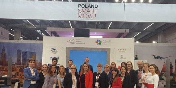Polish Team at Imex Stand