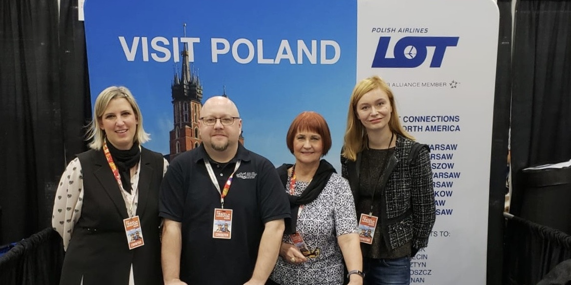 Polish tourist offer at Los Angeles Travel & Adventure Show